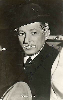 Danny Kaye Hand Signed Photo 6X4 American Hollywood Film Star