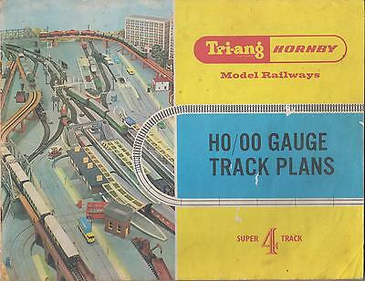 Triang Hornby Oo Gauge Model Railways Track Plans Book ( Super 4 Track )