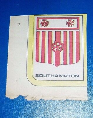 Southampton   Football Club Badge  From Scorcher Comic 1970