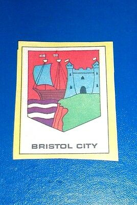 Bristol City   Football Club Badge  From Scorcher Comic 1970