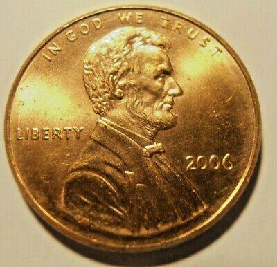 2006 P LINCOLN CENT - BU Nice red coin, FREE PROMPT SHIPPING!