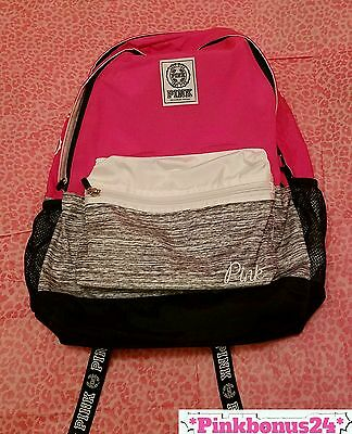Victoria's Secret PINK CAMPUS BACKPACK Pink / Gypsy Rose - 2016 - NWT
