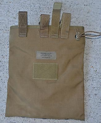 USMC Issue Coyote CSM Tactical Magazine Dump Pouch Very Good Great Condition