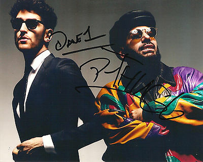 CHROMEO SIGNED 8x10 PHOTO EXACT PROOF COA AUTOGRAPHED WHITE WOMEN MACKLOVITCH