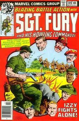 Sgt. Fury #149 in Fine + condition. FREE bag/board