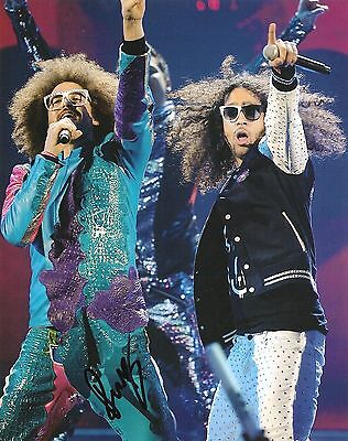 Lmfao Redfoo Signed 8X10 Photo Proof Coa Autograph Shots I'm In Miami