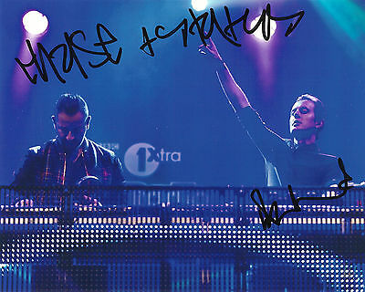 Chase And Status Signed 8X10 Photo Exact Proof Coa Autographed No More Idols