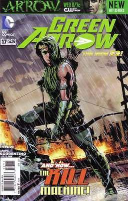 Green Arrow (2011 series) #17 in Near Mint + condition. FREE bag/board