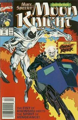 Marc Spector: Moon Knight #25 in Near Mint condition. FREE bag/board