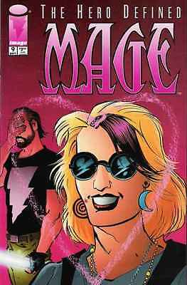 Mage (1997 series) #9 in Near Mint - condition. FREE bag/board