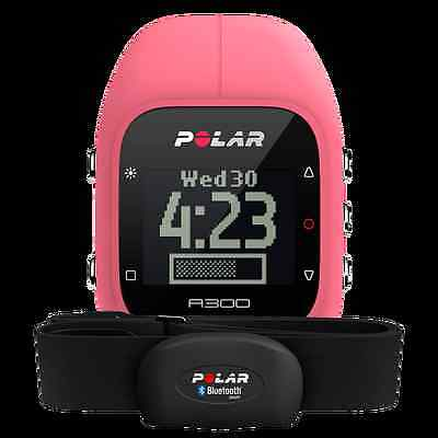 New Polar A300 with Heart Rate Monitor Sensor Pink One Size