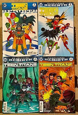 Teen Titans Rebirth # 1, 1 2 3  - DC Comics VF-NM 1st Printings