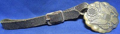 Spanish American War SAW to WWI Army Officer Watch Fob