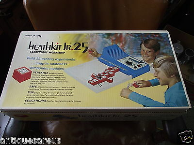 Heathkit Jr 25 Electronic Workshop Kit  Model Jk-1022