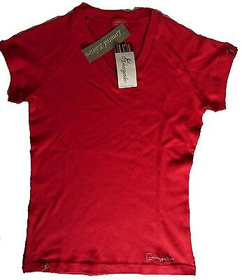 New, Energetiks, V neck, Dance Tee, Size Adult Small, T shirt, Dancewear Top