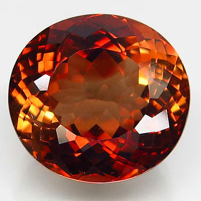 22.67ct.PICTURESQUE GEM! 100%NATURAL TOP IMPERIAL TOPAZ UNHEATED (BRAZIL) AAA!