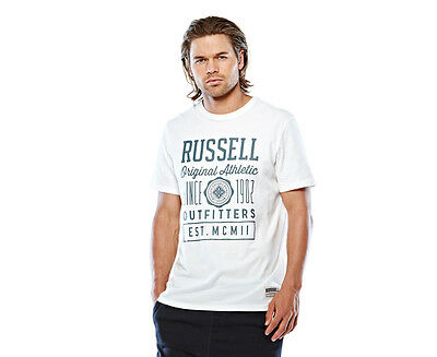 Russell Athletic Men's Vintage Outfitters T-Shirt - Sea Shell