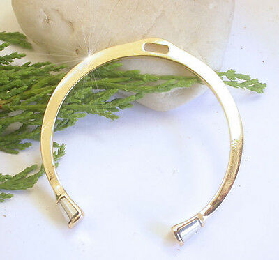 Horse & Western Jewellery Jewelry Ladies Horses Hooves Cuff Bangle Gold