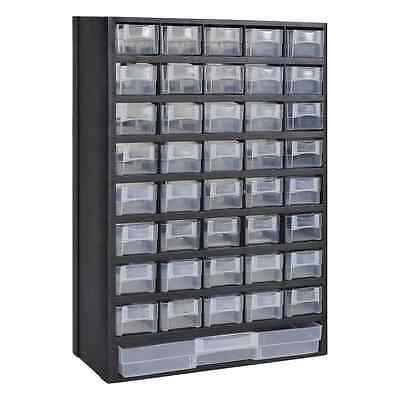 New 41 Drawers Storage Cabinet Tool Box Chest Case Plastic Organiser Toolbox Bin