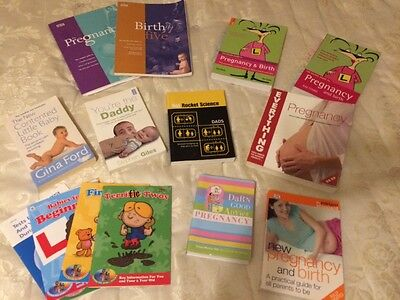 Pregnancy and baby book bundle