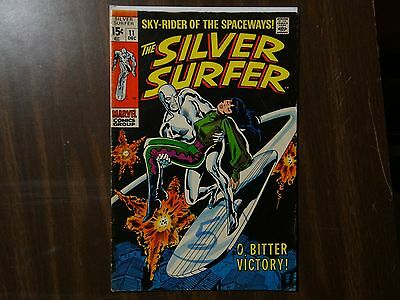 The Silver Surfer #11 (Dec 1969, Marvel)