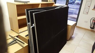18 x Office Dividers 160cmwide x 115cm high