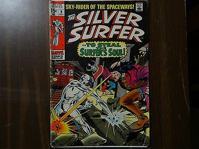 The Silver Surfer #9 (Oct 1969, Marvel)