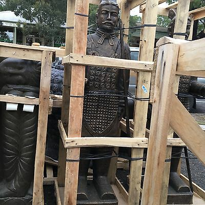 Balinese Large Chinese Warrior Statue Home and Garden