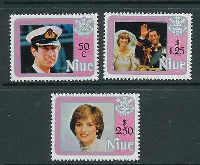 Niue 1982 Birth of Prince William of Wales (2nd series) MNH