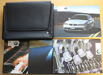 Bmw 3 Series E46 Coupe Handbook Owners Manual Wallet 2003-2006 Pack 12725