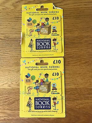 National book tokens £20 Vouchers