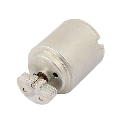 DC3-6V 6500RPM 2 Terminals High Torque Cylinder Micro DC Vibration Motor