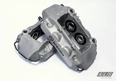 Renault Clio 197 200 RenaultSport Brembo Front Brake Calipers Pair  Grey N/S O/S