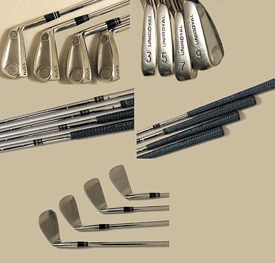 (Prl) Golf 4 Ferri Iron Uniroyal Plus 6 Steel Acciaio True Temper 3 5 7 9 Mazze