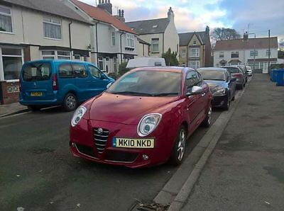 Alfa romeo mito 1.4 to veloce 2010 red 37000 low miles full 6 stamp history