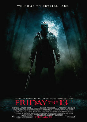 Friday the 13th (2009) V6 - A1/A2 POSTER **BUY ANY 2 AND GET 1 FREE OFFER**