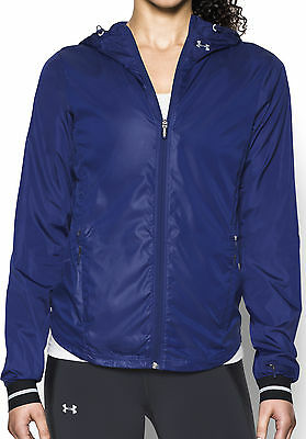 Under Armour Storm Layered Up Ladies Running Jacket - Purple