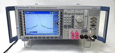 Rohde & Schwarz Cmu200 Universal Radio Communication Tester Loaded With Options