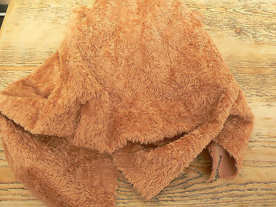 1/8 Metre Viscose Fabric Med. Copper Brown