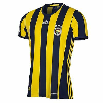 adidas Hommes Maillot Football Fenerbahce Domicile Maillot Jersey Tee 2016-17