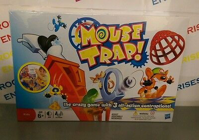 Hasbro/MB Games Mousetrap Game 3 Action Contraptions NEW & Sealed