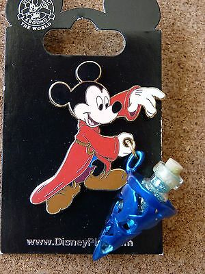Disney Sorcerer  Mickey Mouse  with hat full of Pixie Dust pin