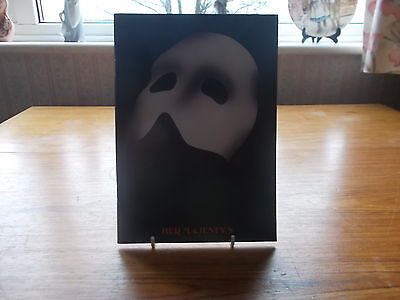 PHANTOM OF THE OPERA - REPRODUCTION OF THE FIRST PROGRAMME feat OLC