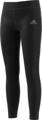 adidas Junior Long Training Tights - Black