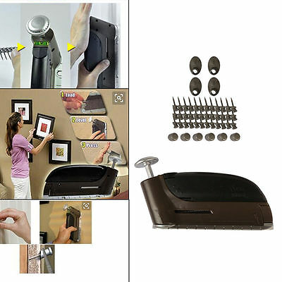 New 10lb Photo Picture Hanging 47pc Nail Set Insta Hanger DIY Wall Hook Tool Kit