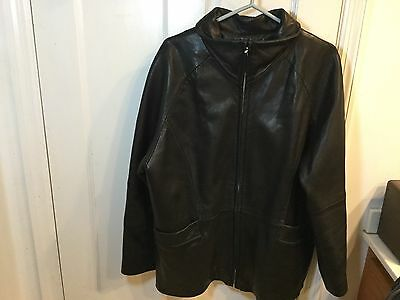 HBO SEX IN THE CITY Leather Jacket Size Xl