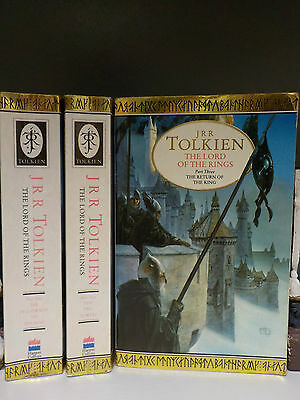 J.R.R.Tolkien - Lord Of The Rings - 3 Books Collection! (ID:42292)