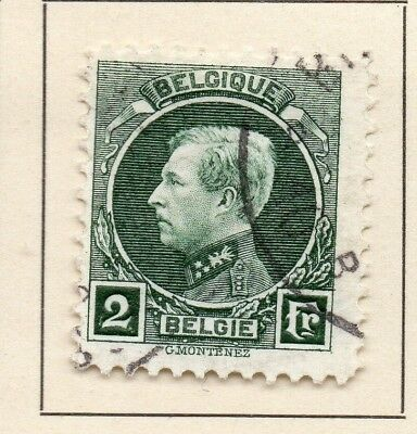 Belgium 1921-24 Early Issue Fine Used 2F. 124537