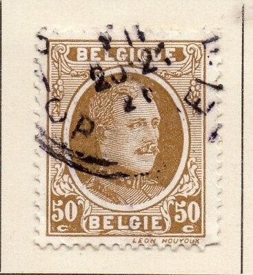 Belgium 1922-24 Early Issue Fine Used 50c. 124551