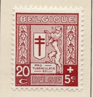 Belgium 1926 Early Issue Fine Mint Hinged 20c. 124568